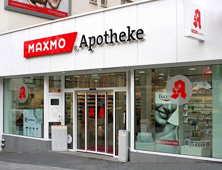 MAXMO Apotheke am Minto Apotheke Mönchengladbach