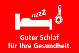 Guter Schlaf für Ihre Gesundheit